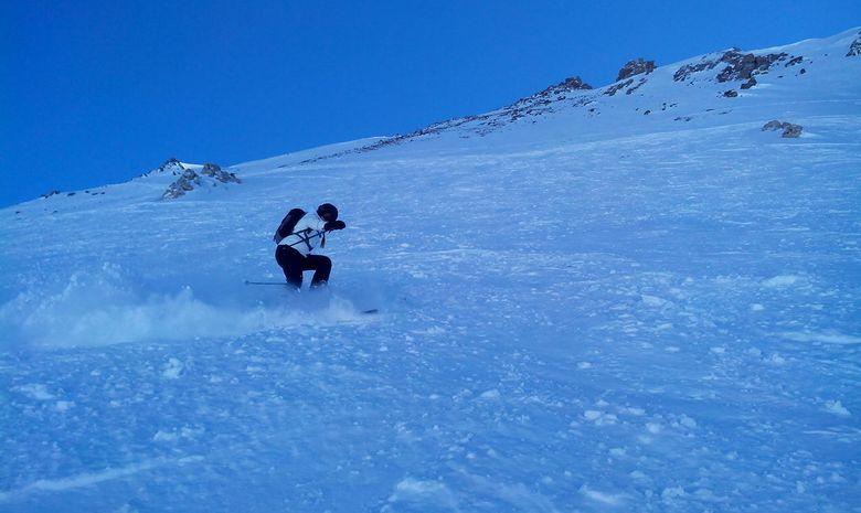 Journée de ski hors-piste espace Killy-2