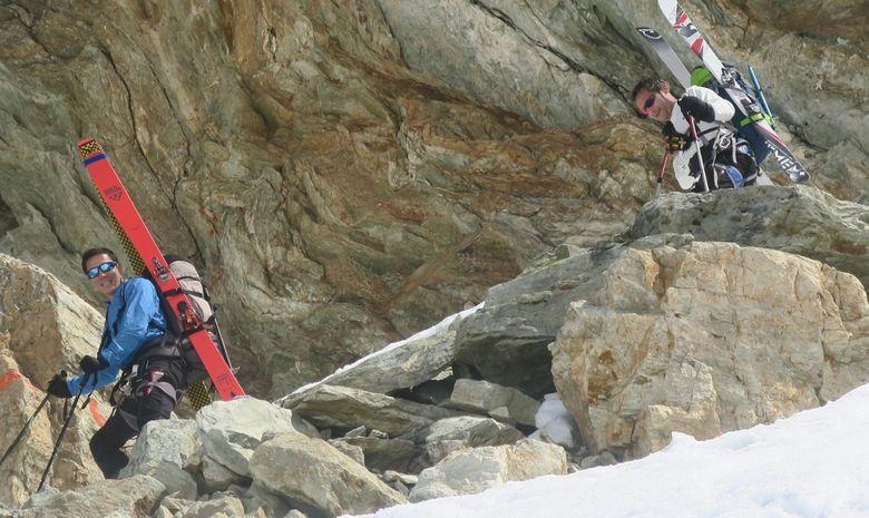 Chamonix Arolla à skis-1