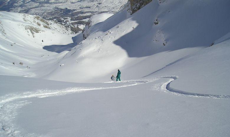 Week end  ski de randonnée dans le Dévoluy-2