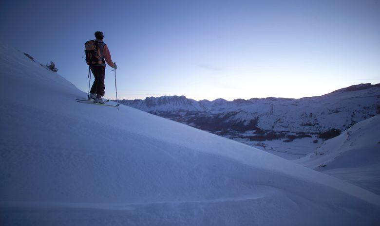Week end  ski de randonnée dans le Dévoluy-4