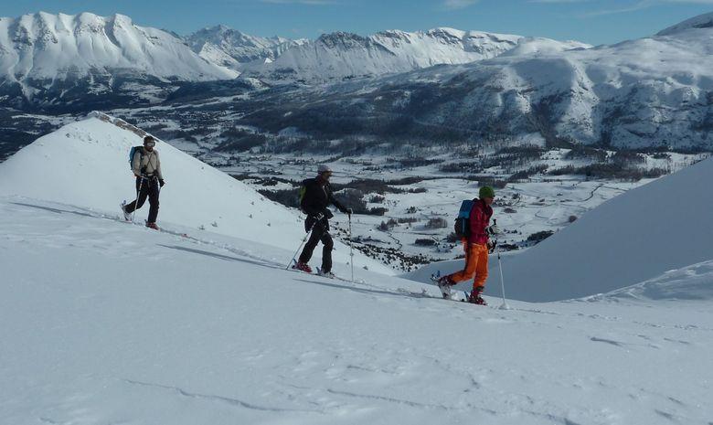 Week end  ski de randonnée dans le Dévoluy-5