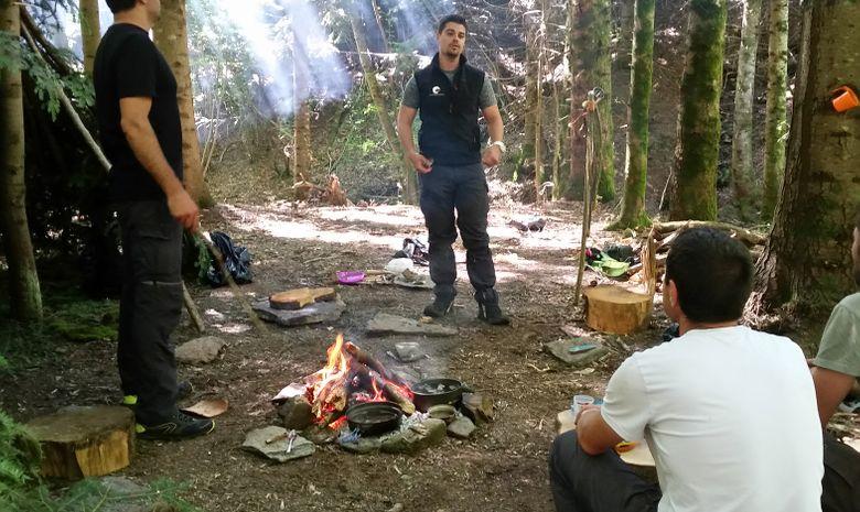 Stage de survie en milieu naturel dans le Jura-6