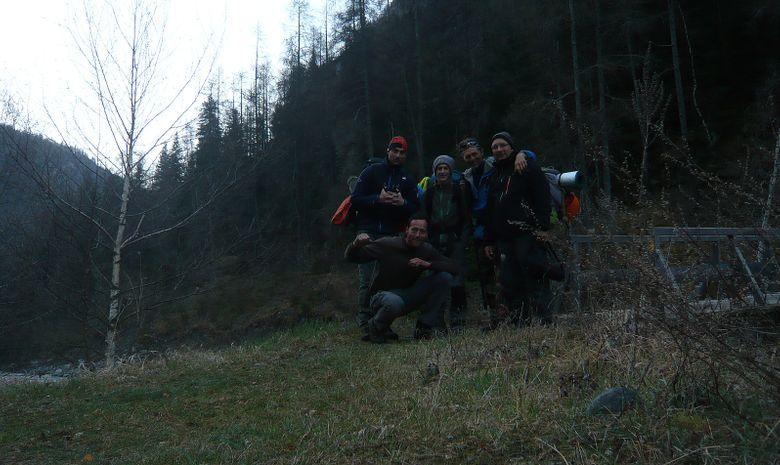 Stage de survie en milieu naturel dans le Jura-11