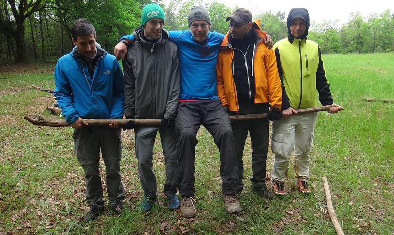 Stage de survie en milieu naturel dans le Jura-5