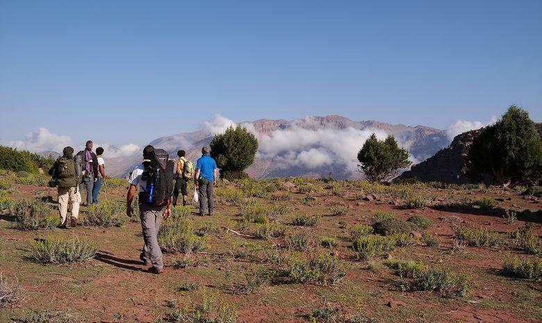 Trek et survie dans le Haut-Atlas marocain-1