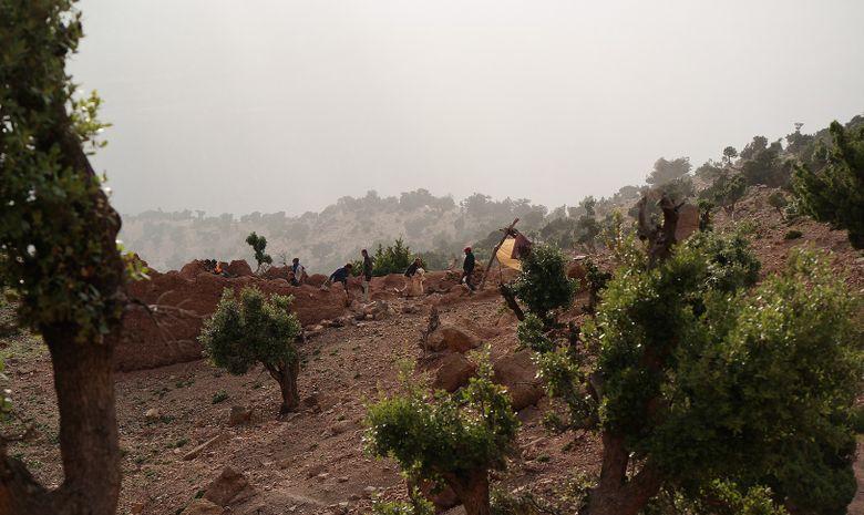 Trek et survie dans le Haut-Atlas marocain-12