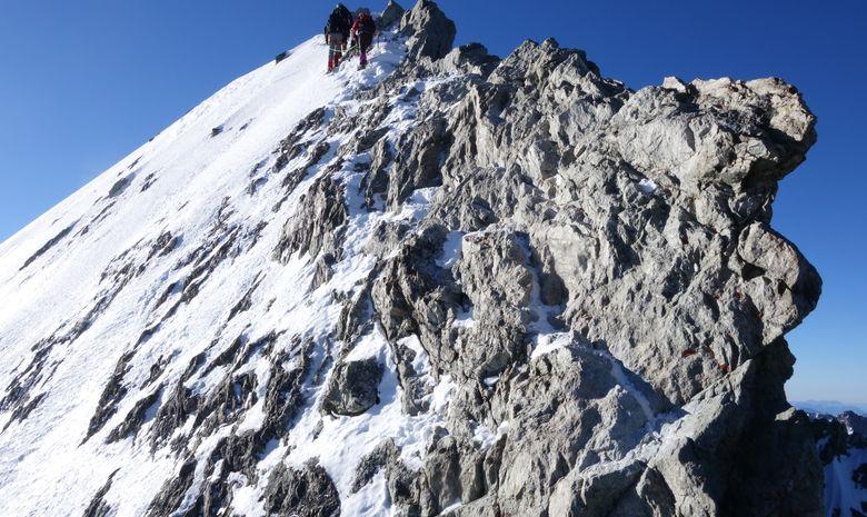 Ascension de la Barre des Ecrins 4102 m.-2
