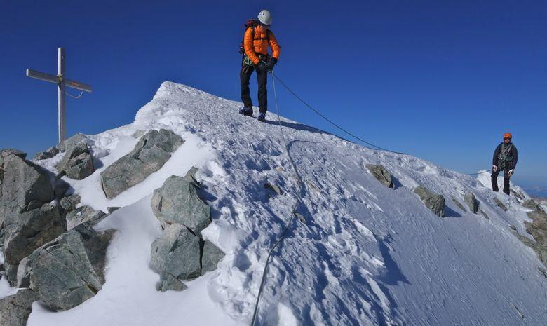 Ascension de la Barre des Ecrins 4102 m.-7
