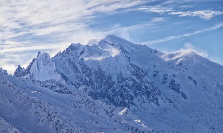 Le maître des lieux... le Mont-Blanc!