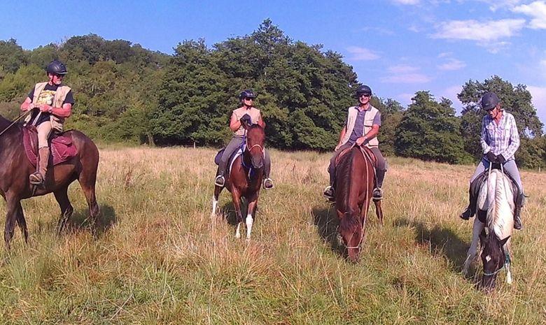 Week-end à cheval aux portes des Landes-4