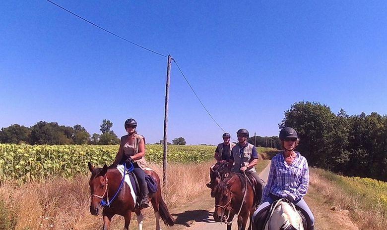 Randonnée à cheval aux portes du Lot-et-Garonne-9