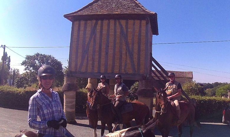 Randonnée à cheval aux portes du Lot-et-Garonne-11