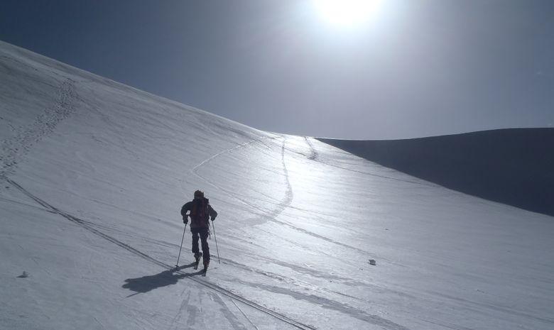Raid sur les 4000 de Zermatt en ski de randonnée-4