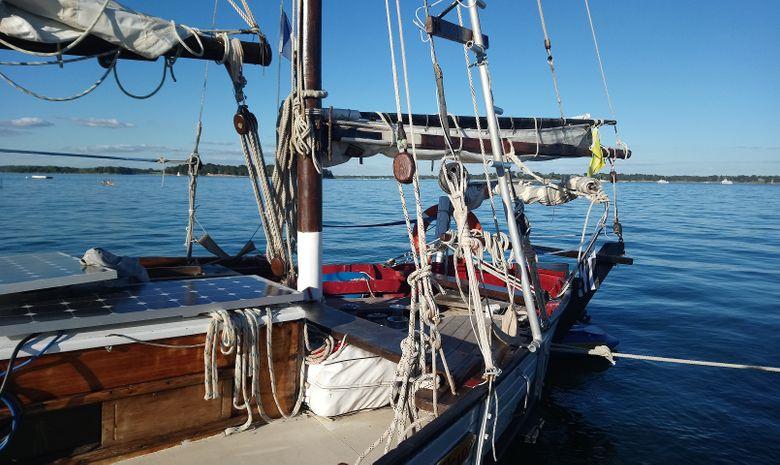 Croisière voilier traditionnel île de Bretagne sud-10
