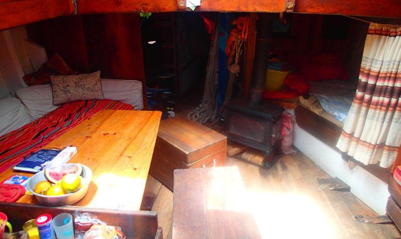Croisière voilier traditionnel île de Bretagne sud-6