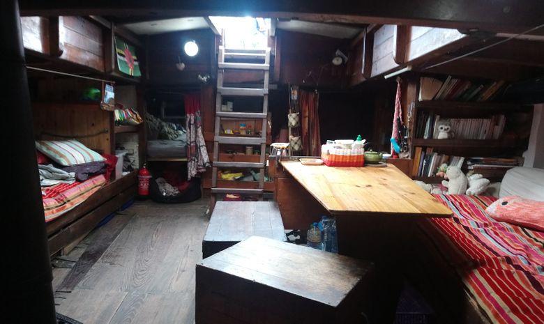 Croisière voilier traditionnel île de Bretagne sud-5