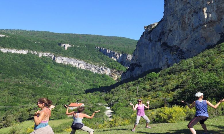 Week-end yoga et escalade au Lac d'Annecy -9