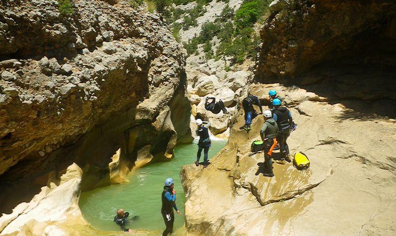 Séjour canyoning en Sierra de Guara-3