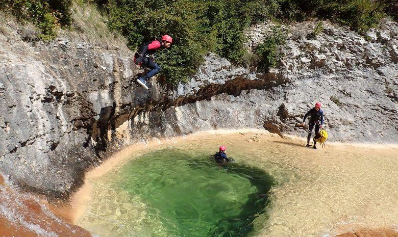 Séjour canyoning de 3 jours en Sierra de Guara-2