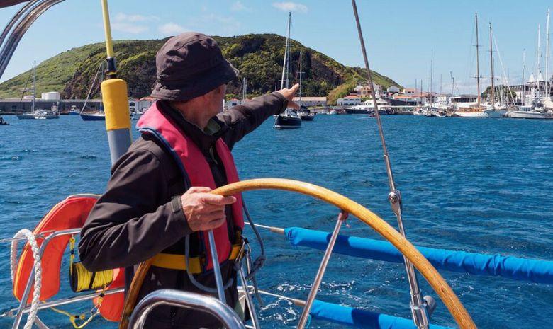 La Galice au départ des Açores-10
