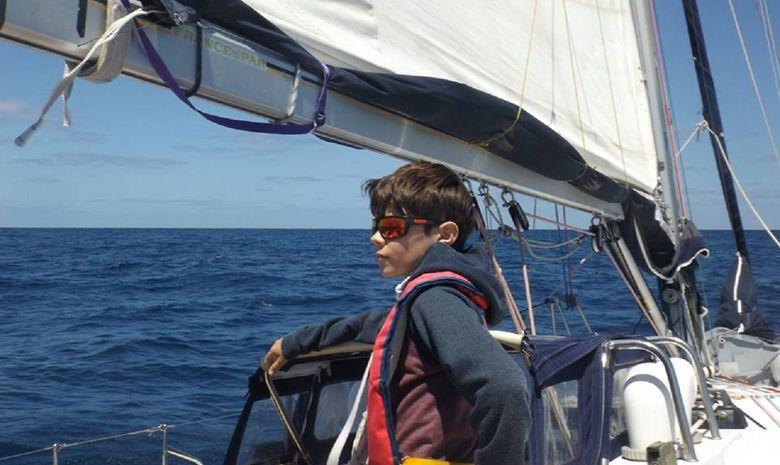 La Galice au départ des Açores-12