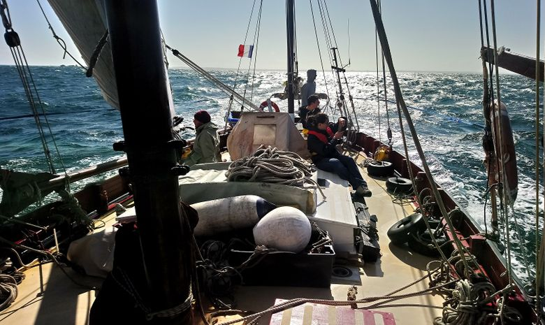 Week-end Belle-Île en voilier traditionnel-13