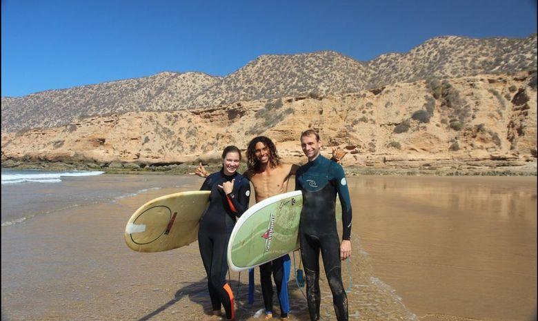 Surfcamp en villa moderne tout confort à Tafedna