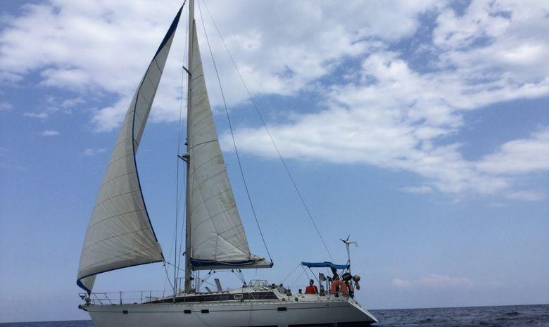 De Marseille aux Antilles en FEELING 446-2