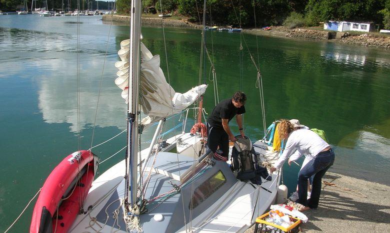 Journée à la voile dans le Golfe du Morbihan-5