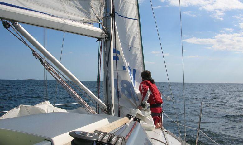 Journée à la voile dans le Golfe du Morbihan-3