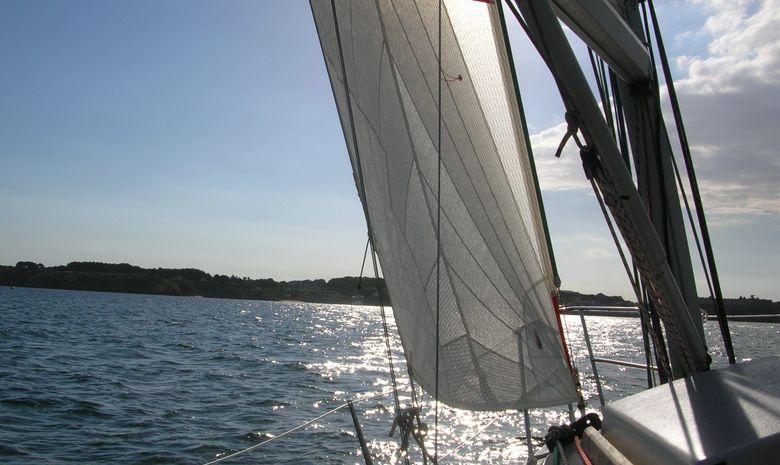 Journée à la voile dans le Golfe du Morbihan-2