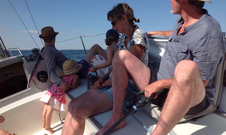 Journée à la voile dans le Golfe du Morbihan-6