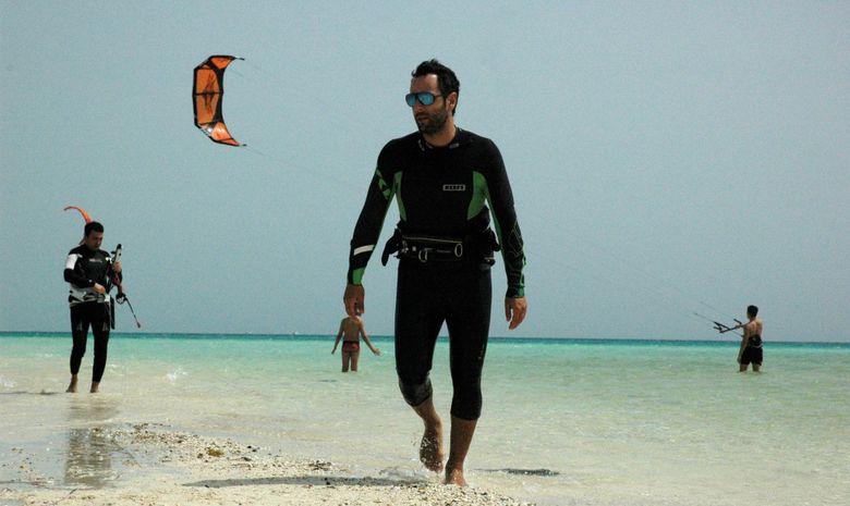 Cours de kitesurf dans la région d'Hurghada-7