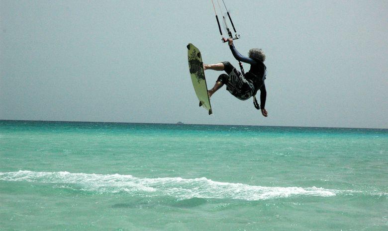 Cours de kitesurf dans la région d'Hurghada-6