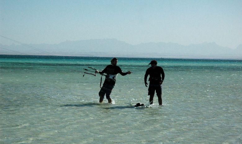 Cours de kitesurf dans la région d'Hurghada-8