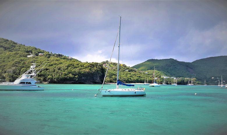 Croisière privée en Guadeloupe - voilier 41'