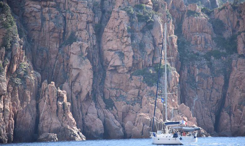 La Corse du Sud sur un voilier de 50 pieds-9