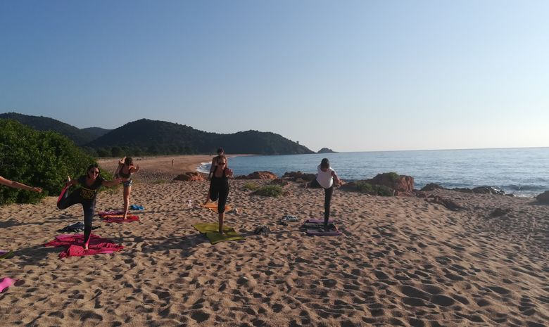 Stage yoga ressourçant en Corse du Sud
