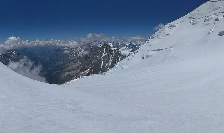 Mont Blanc, voie normale en 3 jours-3