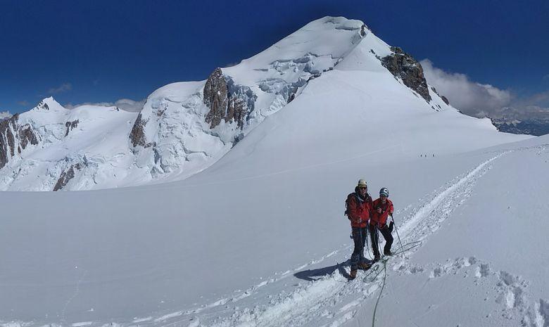 Mont Blanc, voie normale en 3 jours-1