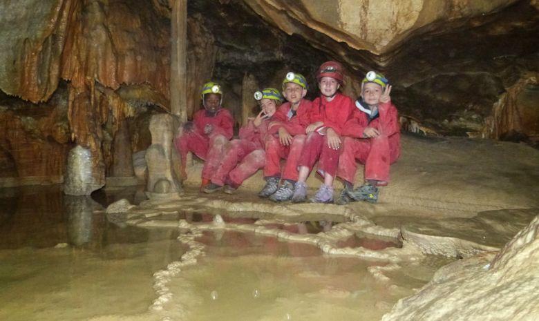 Grotte de la Marie-Jeanne Traversée-2