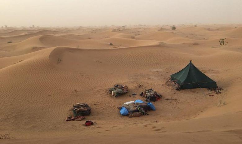Retraite Yoga itinérante dans le désert marocain-9