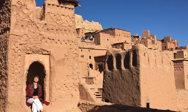 Retraite Yoga itinérante dans le désert marocain-5
