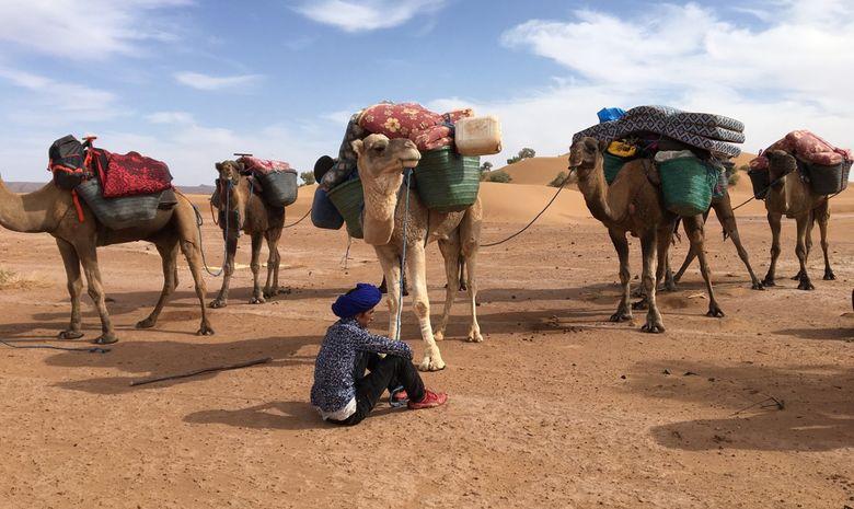 Retraite Yoga itinérante dans le désert marocain-7