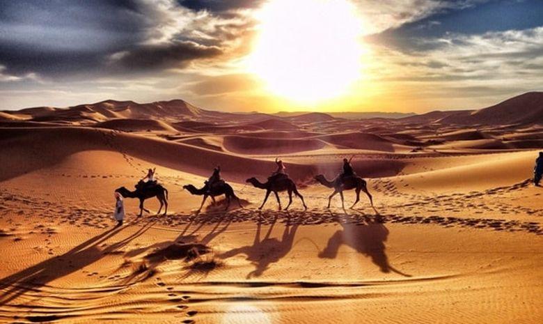 Retraite yoga au nouvel an dans le désert marocain