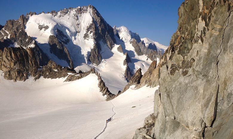 Ascension de l'Aiguille du Tour en 2 jours
