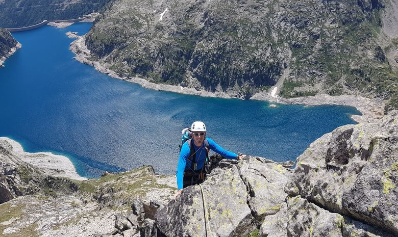 séjour Escalade dans les Pyrénées