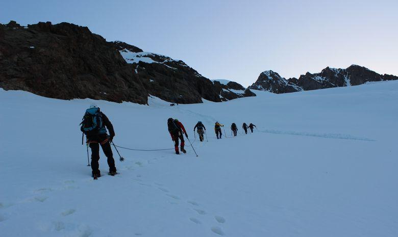 Ascension du Dôme des Glaciers en 2 jours -1