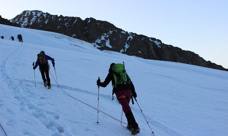 Ascension du Dôme des Glaciers en 2 jours -6