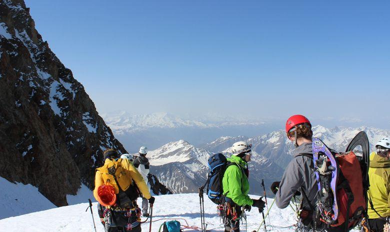 Ascension du Dôme des Glaciers en 2 jours -7